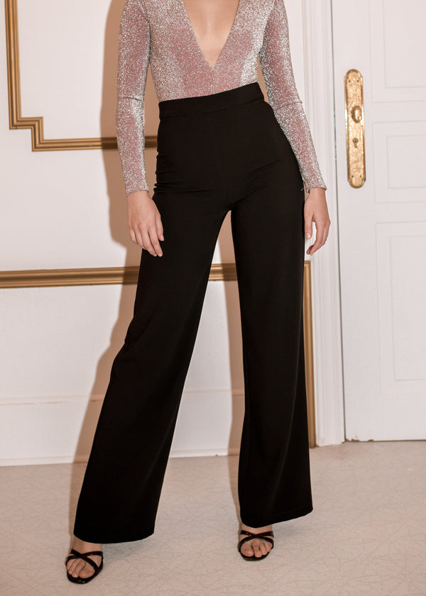 RIVIERA BLACK TROUSERS