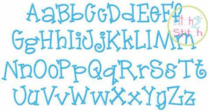 Jelly Bean Monogram Font