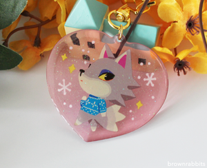 Heart Charm Animal Crossing Fang