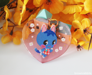 Heart Charm Animal Crossing Rosie