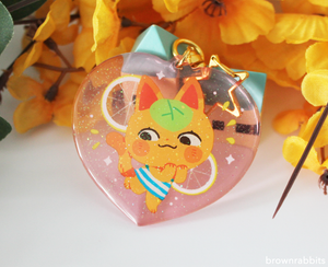Heart Charm Animal Crossing Tangy