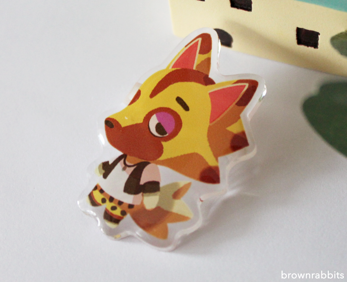 Acrylic Pin Animal Crossing Kyle