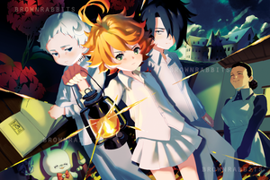 Promised Neverland Poster 約束のネバーランド