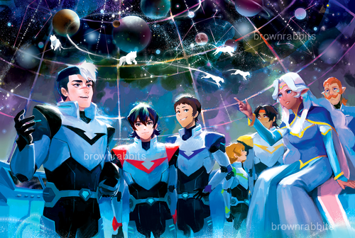 Voltron Poster