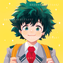 Load image into Gallery viewer, Boku No Hero Mini Prints
