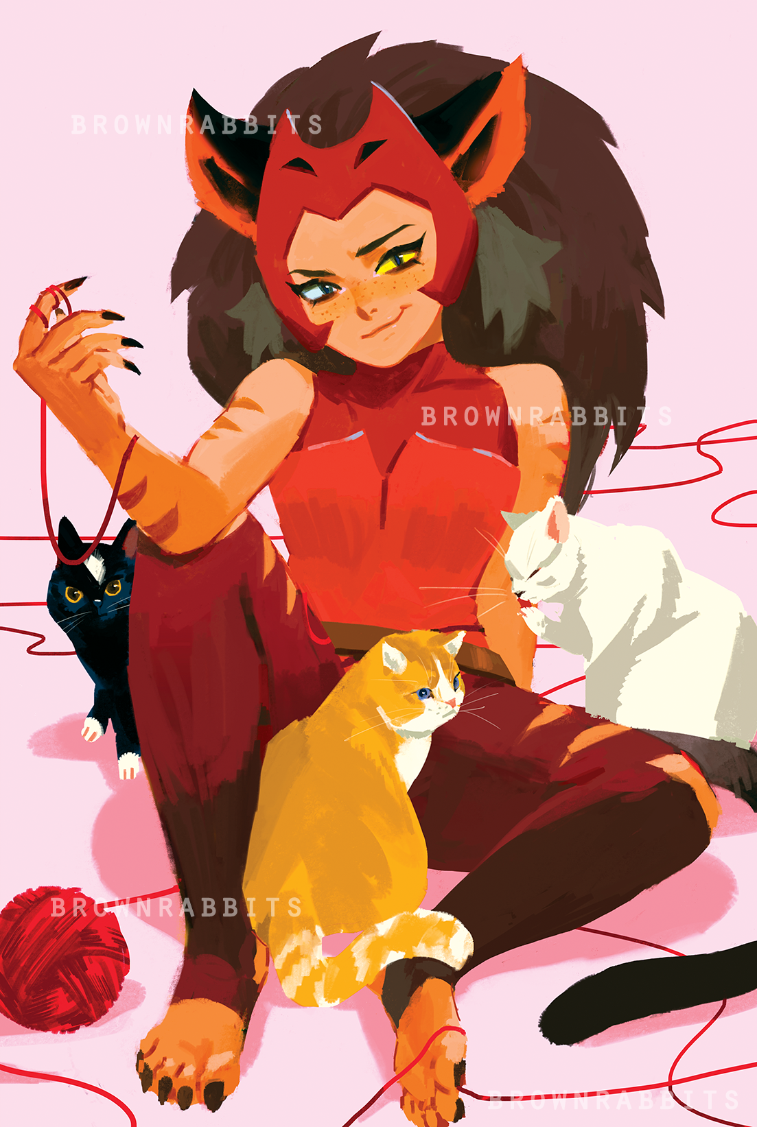SPECIAL: Catra with Cats