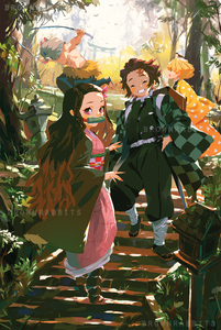 Kimetsu No Yaiba Demon Slayer Poster 鬼滅の刃