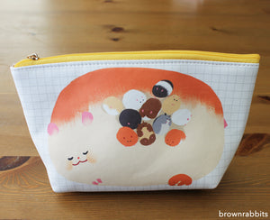 Hamster  Grid Pouch