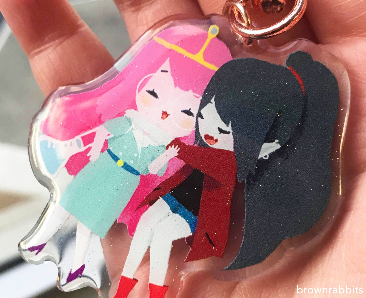 Princess Bubble gum and Marceline