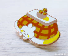 Load image into Gallery viewer, Bunny Kotatsu Enamel Pin