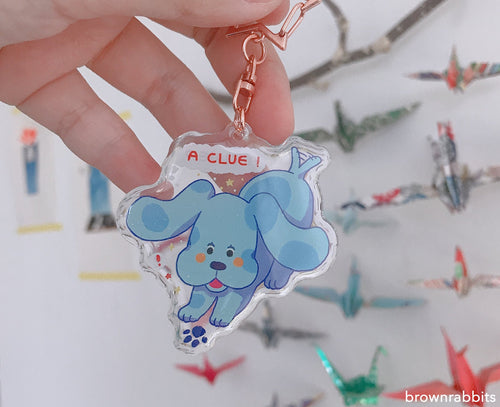 Blue's Clues Keychain