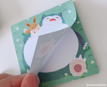 Load image into Gallery viewer, Snorlax Memopad