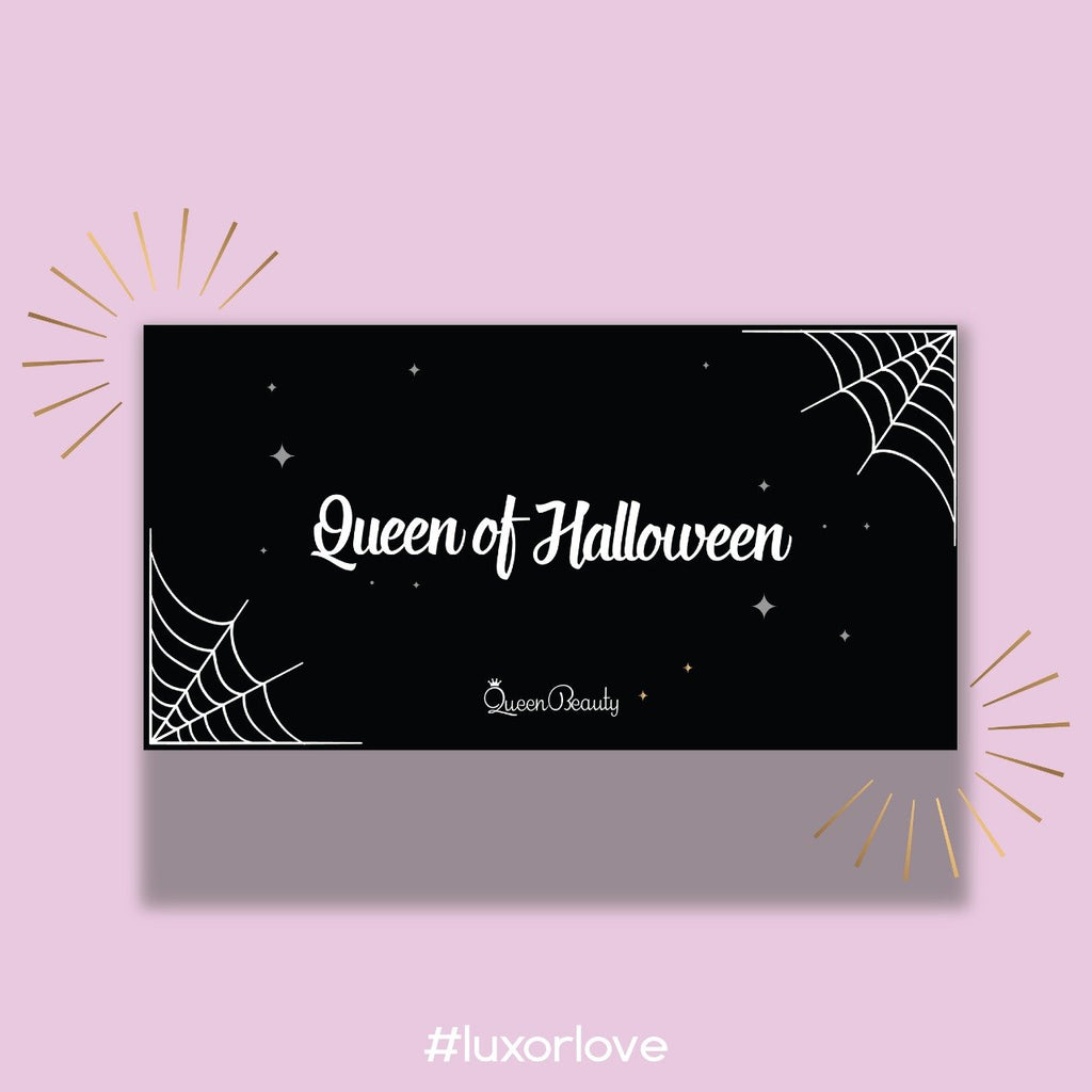 "Queen Beauty - Sombras ""QUEEN OF HALLOWEEN"""