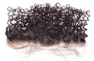 14inch Burmese Indian Curly Frontal