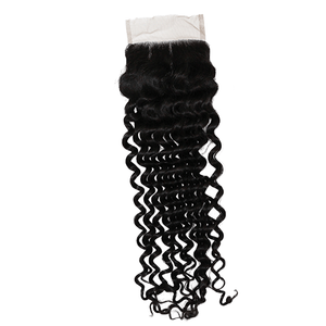 14inch Burmese Indian Curly Closure