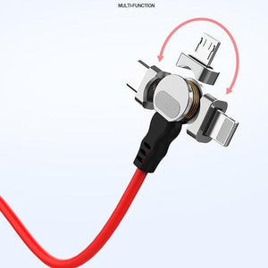 180° Rotating Magnetic Charging Cable