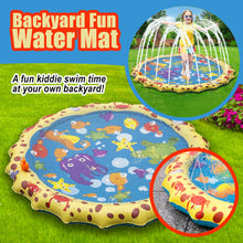 Load image into Gallery viewer, Backyard Fun Water Mat