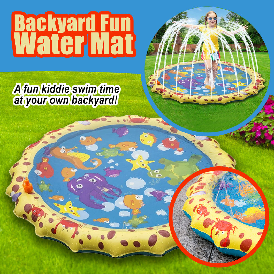 Backyard Fun Water Mat