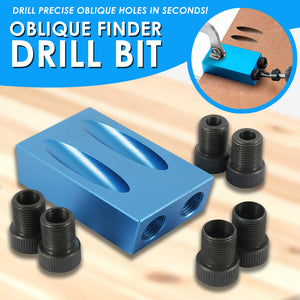 Oblique Finder Drill Bit