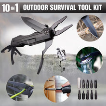Load image into Gallery viewer, 10 in 1 Outdoor Survival Tool Kit