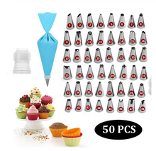 Load image into Gallery viewer, Yummy Cake Cream Nozzles - 8/14/26/50pcs Set