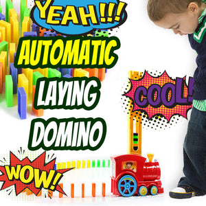 Automatic Domino Laying Train