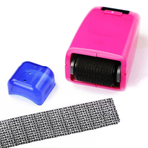 Privacy Protector Roller Stamp