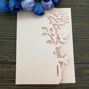 Rose Leaves Border Metal Cutting Die