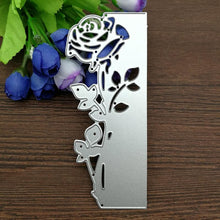 Load image into Gallery viewer, Rose Leaves Border Metal Cutting Die