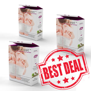 NuFeet™ Detoxifying Foot Patches