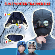 Load image into Gallery viewer, 3-In-1 Winter Trapper Hat