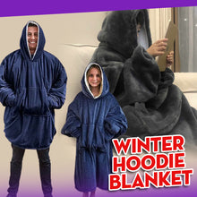 Load image into Gallery viewer, Winter Hoodie Blanket