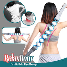 Load image into Gallery viewer, RelaxNow- Portable Roller Rope Massager