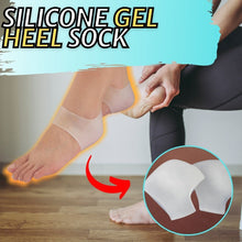 Load image into Gallery viewer, Silicone Gel Heel Sock
