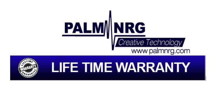 Palm Nrg Lifetime Warranty - Heating Pad
