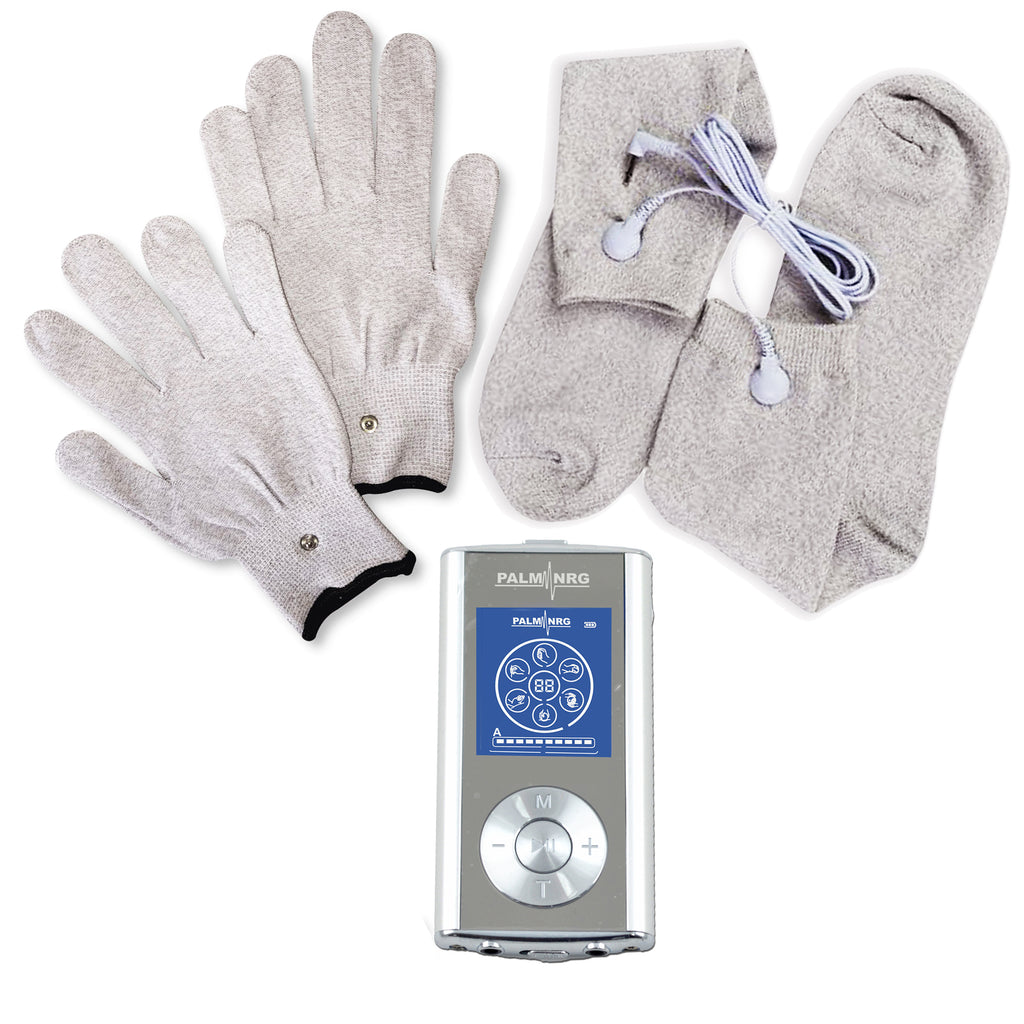 Palm NRG 1 Deluxe Combo Set w/ Massage Gloves & Socks