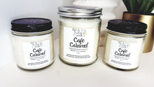 Load image into Gallery viewer, Cafe Caramel | Natural Soy Candle | Hand-Poured and Hand-Crafted - Coffee Chronicles