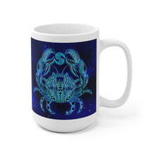 Load image into Gallery viewer, Zodiac Coffee Mug Gift, Horoscope Cancer 11 oz or 15 oz. - Coffee Chronicles