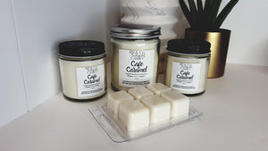 Cafe Caramel | Natural Soy Candle | Hand-Poured and Hand-Crafted - Coffee Chronicles