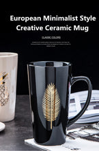 Load image into Gallery viewer, Creative Nordic Ceramic Mugs 500ml / 17oz - Coffee Chronicles