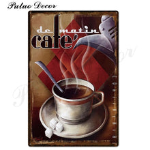 Load image into Gallery viewer, Vintage Metal Sign Retro Metal Posters Iron Painting - Coffee Chronicles