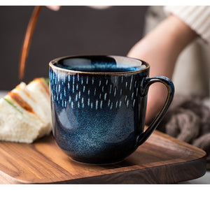 Creative Pottery Ceramic Mugs - Coffee Chronicles