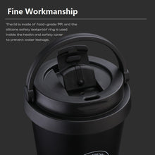 Load image into Gallery viewer, 500m/17oz Stainless Steel Insulated Travel  Mug - Coffee Chronicles