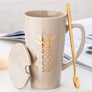 Creative Nordic Ceramic Mugs 500ml / 17oz - Coffee Chronicles