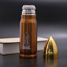 Load image into Gallery viewer, Stainless Steel Bullet, Vacuum Flasks Travel Thermoses  350ml or 500ml - Coffee Chronicles