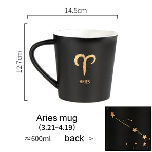 Ceramic Twelve Constellations Creative Mugs 20oz - Coffee Chronicles