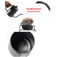 Load image into Gallery viewer, 350ml or 600ml Gooseneck Drip Kettle Swan Neck Thin Neck - Coffee Chronicles