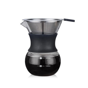 200ml/400ml Hand-brewed Water Drip Coffee Maker with filter. - Coffee Chronicles