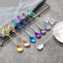 Load image into Gallery viewer, 7pcs/ 4pcs Musical Note Coffee Spoons Stainless Steel - Coffee Chronicles