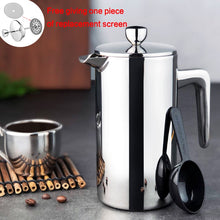 Load image into Gallery viewer, New Style Stainless Steel French Press Coffee Percolators - Coffee Chronicles